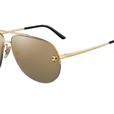Gọng kính mắt Cartier ESW00094 xuất xứ từ pháp, 18K gold chính hãng
