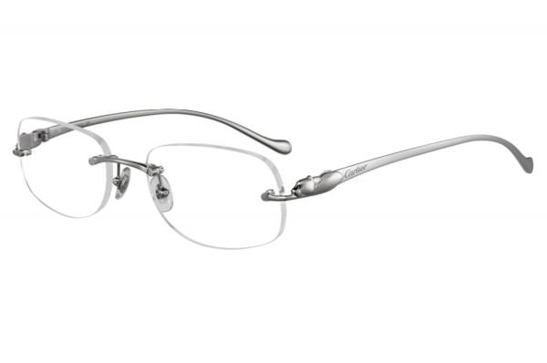 Gọng kính Cartier T8101034 chất liệu thép không gỉ, titanium chính hãng