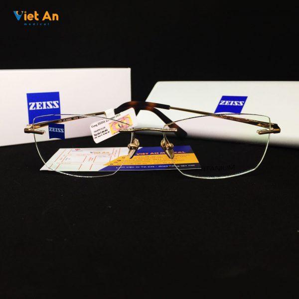 Gọng kính khoan Zeiss ZS50005-F010 - Titanium