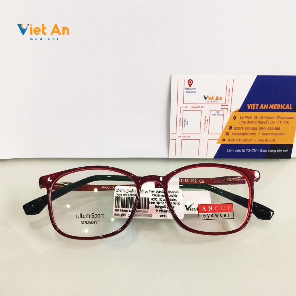 Gọng kính Ancci AC92504YF-C6